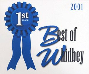 Voted Best Thrift Store on Whidbey Island 2001
