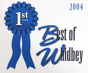 Voted Best Thrift Store on Whidbey Island 2004